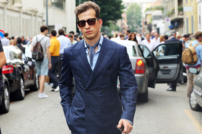 Street Style | Men tied for business