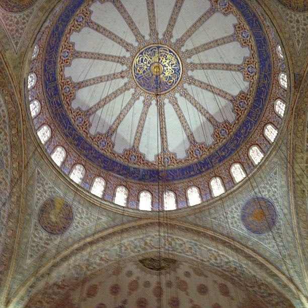 The Sultan Ahmed Mosque - Blue Mosque