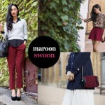 Fashion Trend | Maroon Swoon