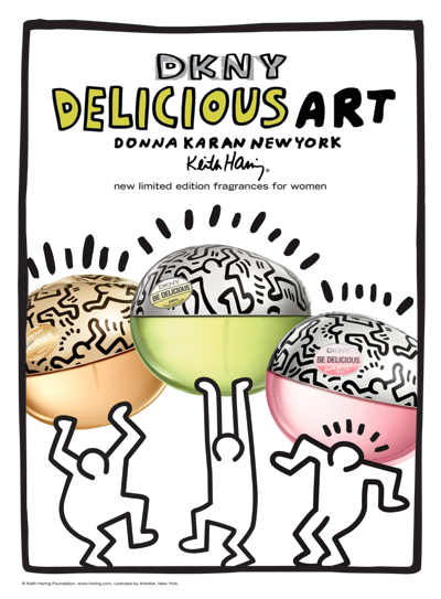 The Keith Haring DKNY Be Delicious Art Collection