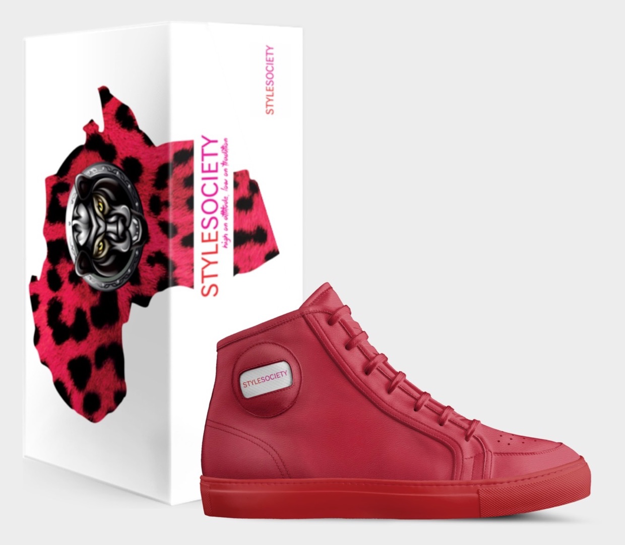 ALIVESHOES   StyleSociety Limited Edition High Top Sneaker