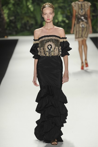 Naeem Khan Spring Summer 2014 | New York Fashion Week