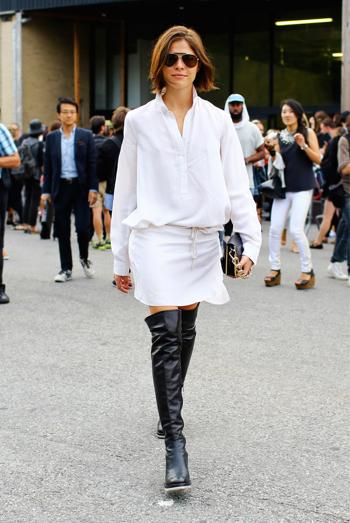 The Crisp White Shirt | New York Fashion Week Spring 2014