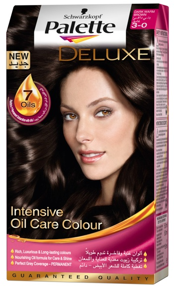 Schwarzkopf Palette Deluxe - Dark Warm Brown