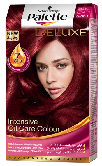 Schwarzkopf Palette Deluxe - Smooth Red Violet.