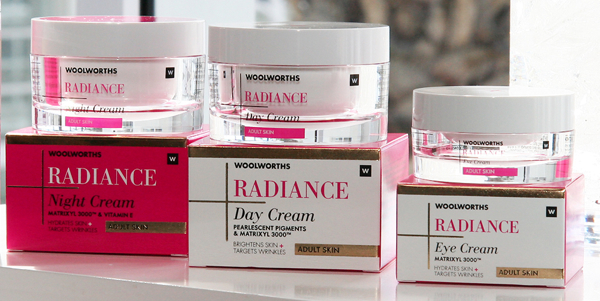 WBeauty Radiance range from Woolworths