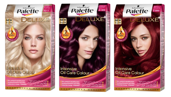 WIN SCHWARZKOPF PALETTE DELUXE INTENSE OIL-CARE COLOR