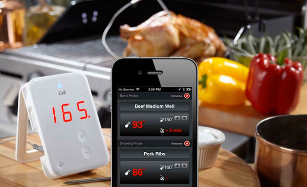 win a wireless igrill bluetooth meat thermometer style. Black Bedroom Furniture Sets. Home Design Ideas