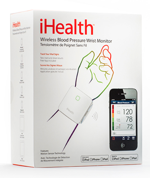 WIN a Wireless iHealth Blood Pressure Wrist Monitor