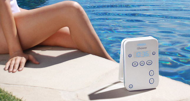 WIN A BLUETOOTH®-ENABLED WIRELESS WATER RESISTANT ISHOWER SPEAKER