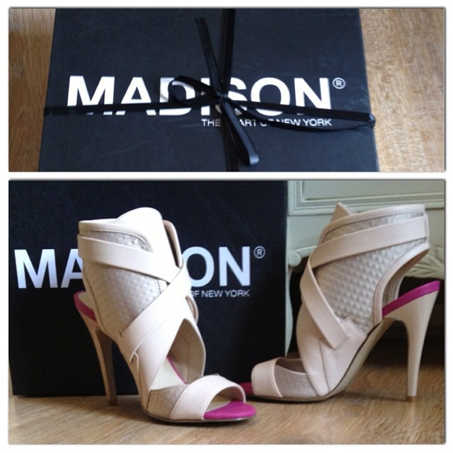 My gorgeous Elektra heels from the #MadisonBlack range