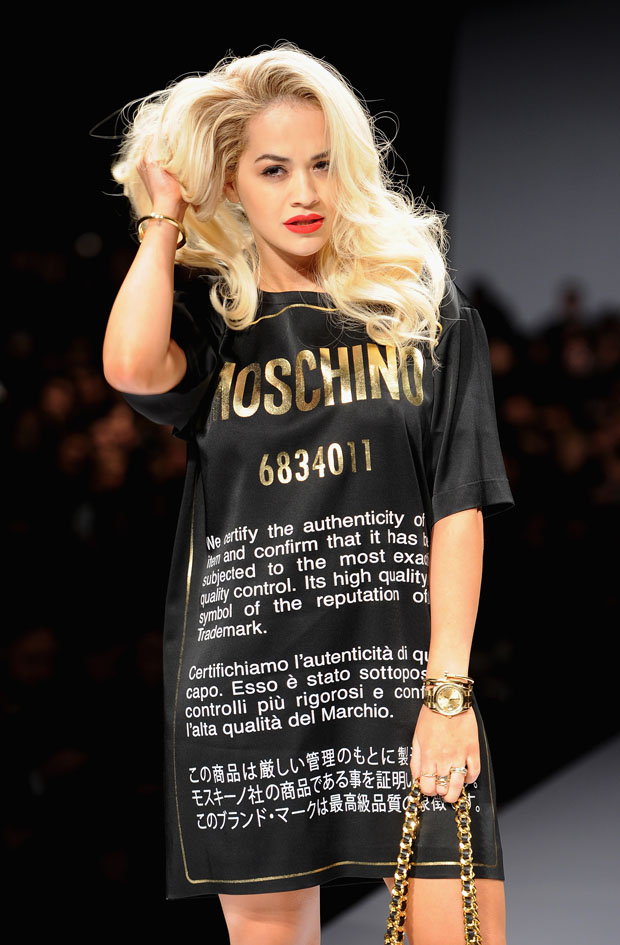 Moschino - Front Row - Milan Fashion Week Womenswear Autumn/Winter 2014