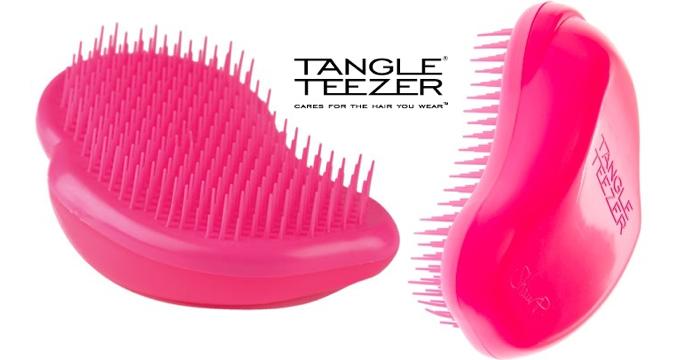 The Tangle Teezer - a professional detangling hairbrush