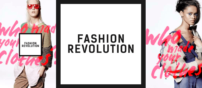 "The theme for Fashion Revolution Day is ""Who Made Your Clothes?"""