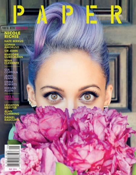 Nicole Richie Paper Magazine Cover- May
