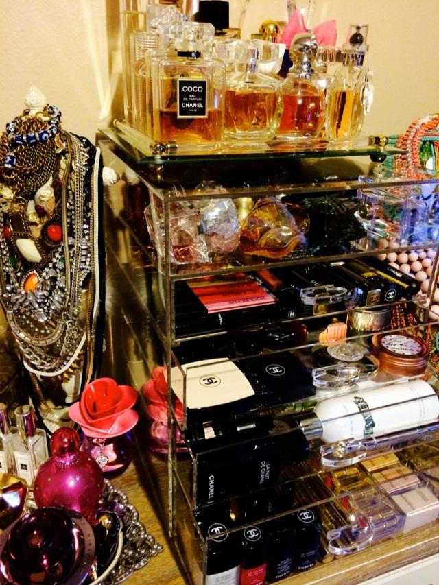 27Pinkx Luxury Makeup Organizer