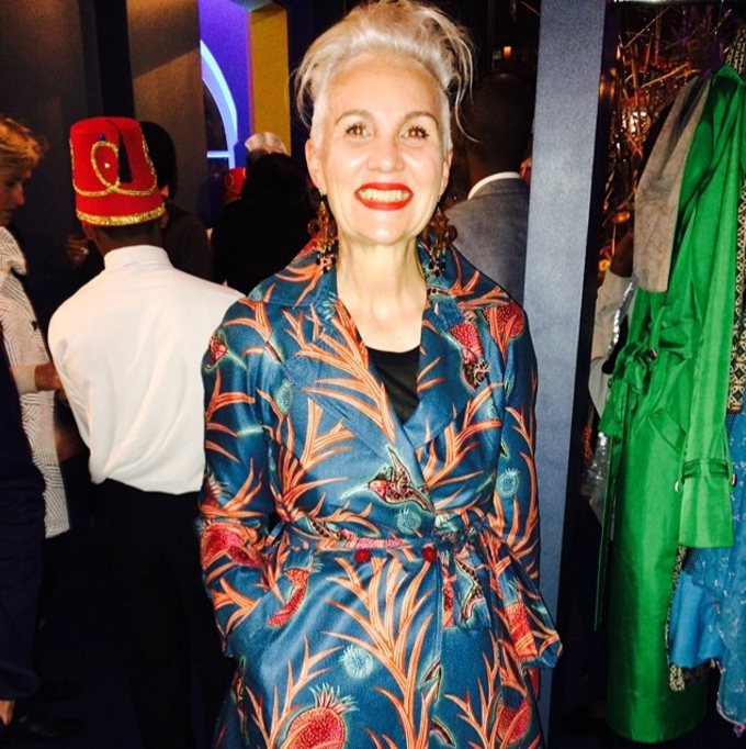 Jackie Burger rocked some Vlisco fashion