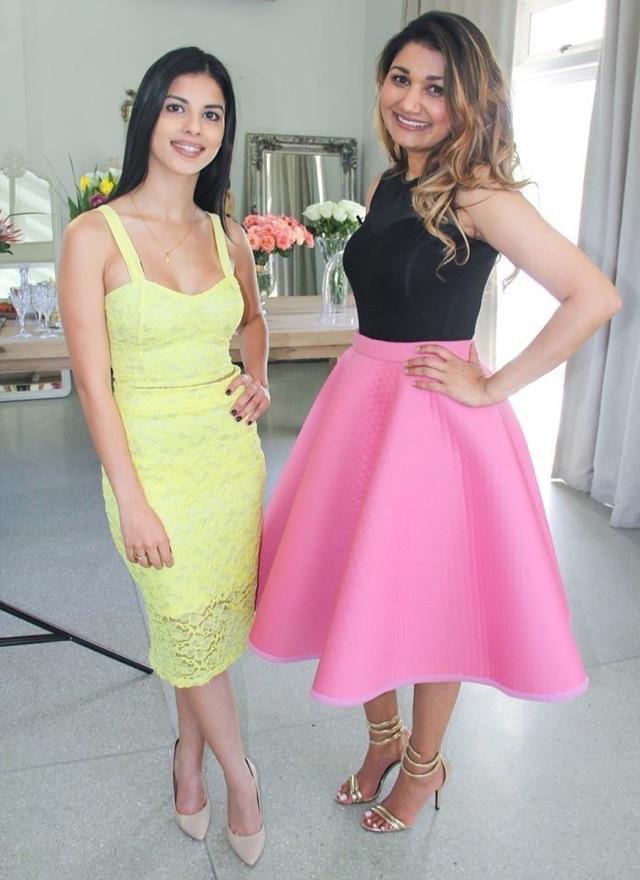 TV Shoot for Mela (Sabc2) with Farrah Mia