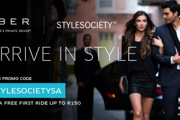 Arrive in style with Uber at StyleSociety Pop up Boutique