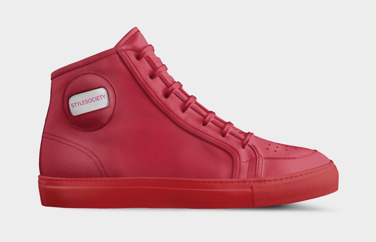 ALIVESHOES | StyleSociety Limited Edition High Top Sneaker