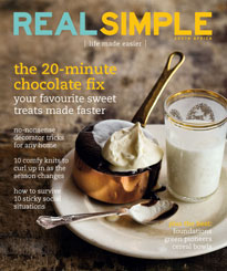 Real Simple Magazine - April 2009