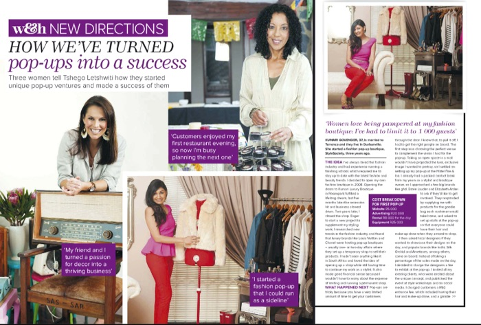 Woman Home Magazine New Directions Stylesociety