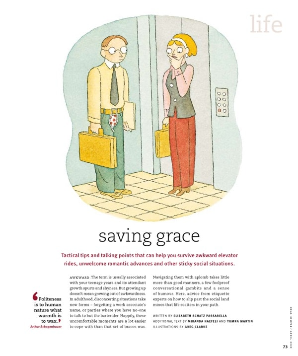 Real Simple - Life Saving Grace