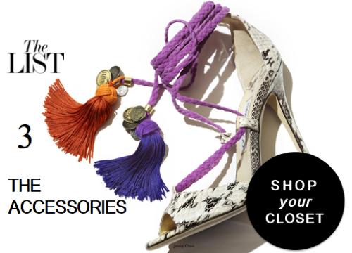 Shop your closet like a Fashion Editor