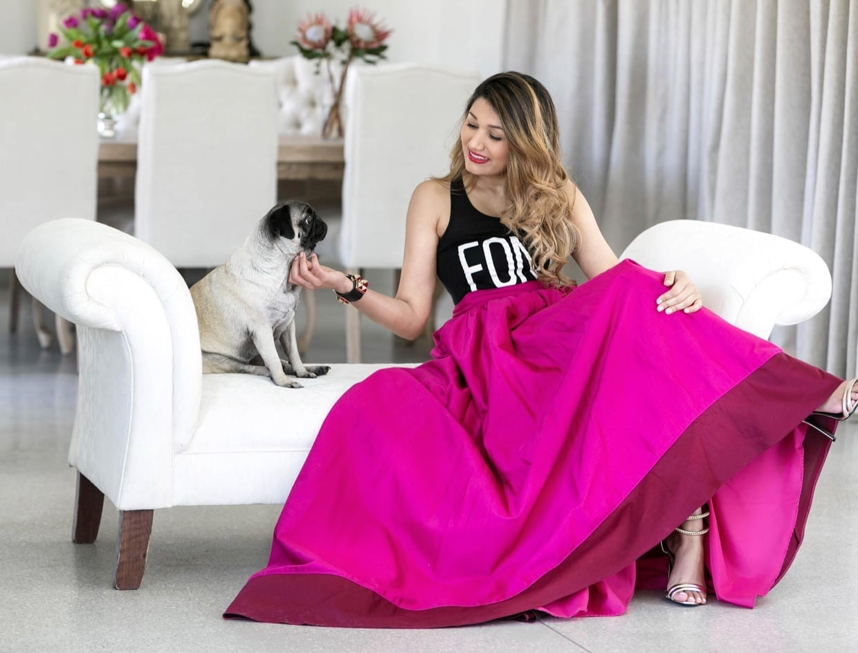 Kumari Govender Ball gown skirt