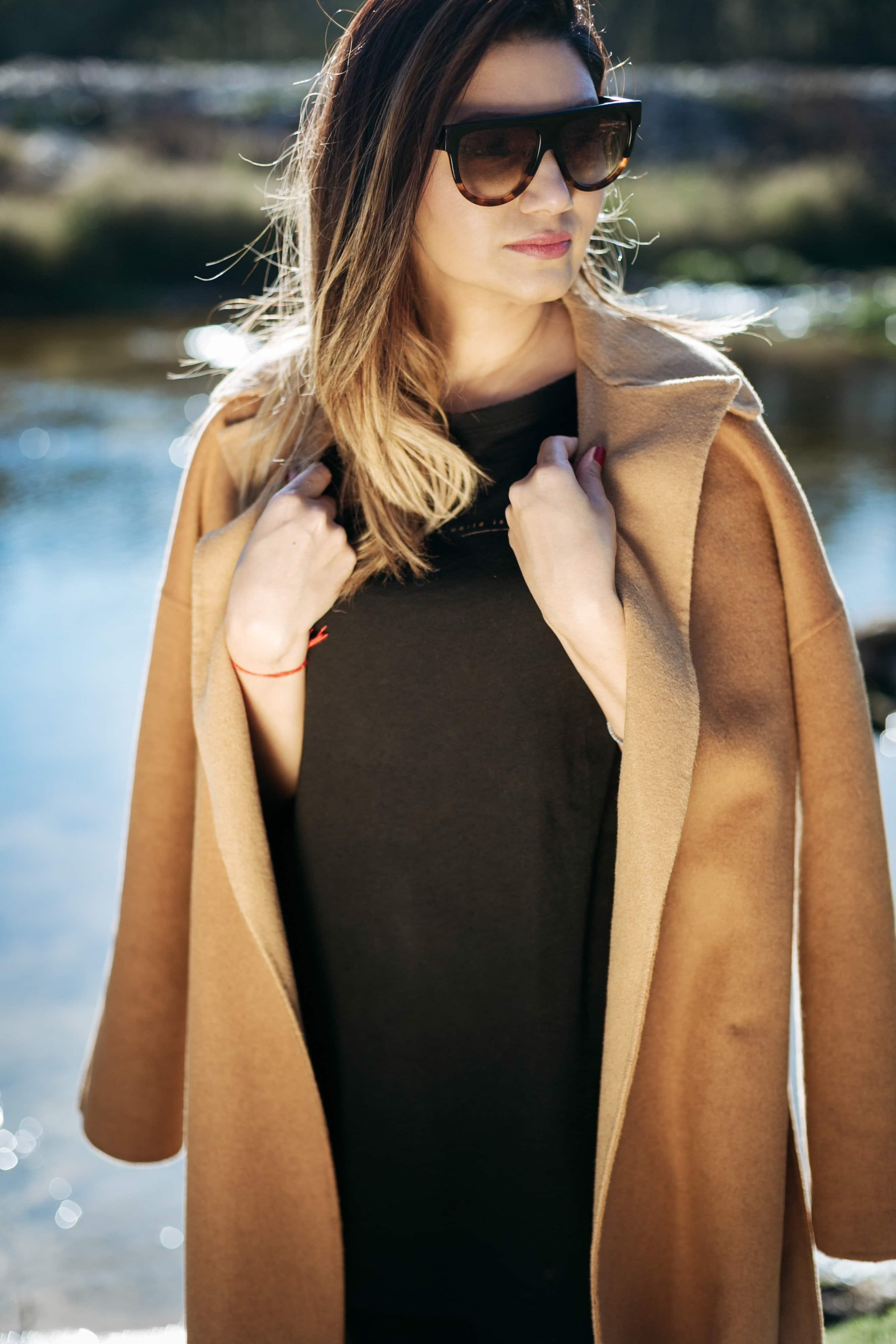Kumari Govender Trend Camel Coat