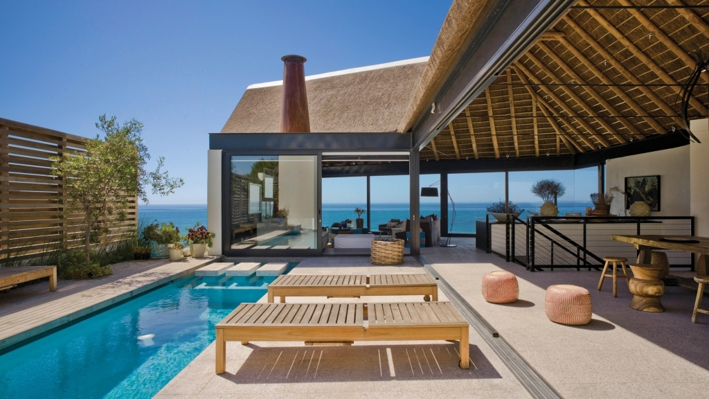 Silver Bay Beach Villa   Sophisticated beach holiday accommodation in Shelley Point South Africa