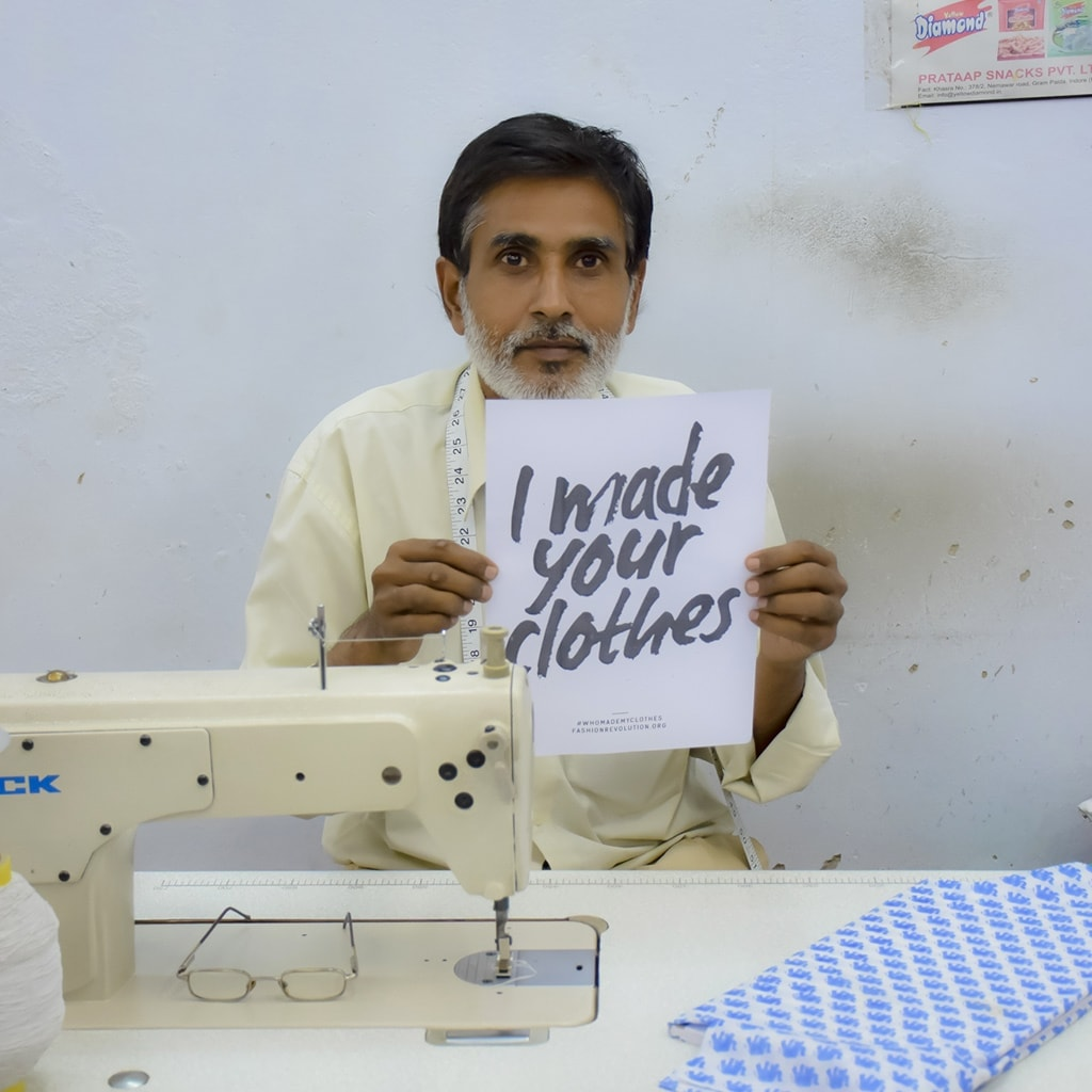 Fashion Revolution I made your clothes