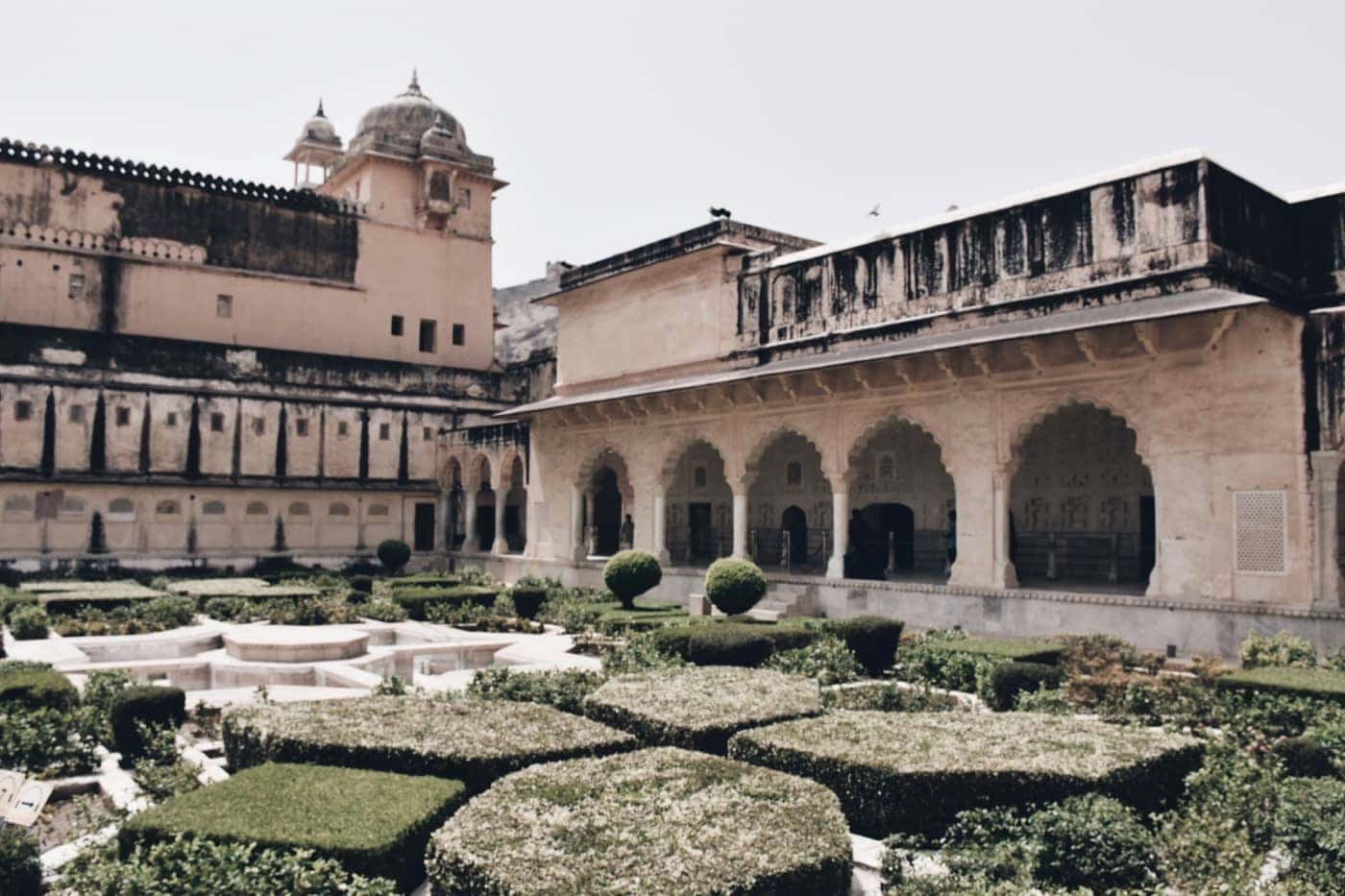 Amber Fort Palace Gardens