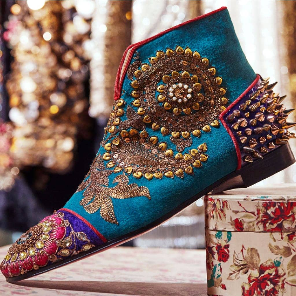Christian Louboutin Sabyasachi Mukherjee Collaboration