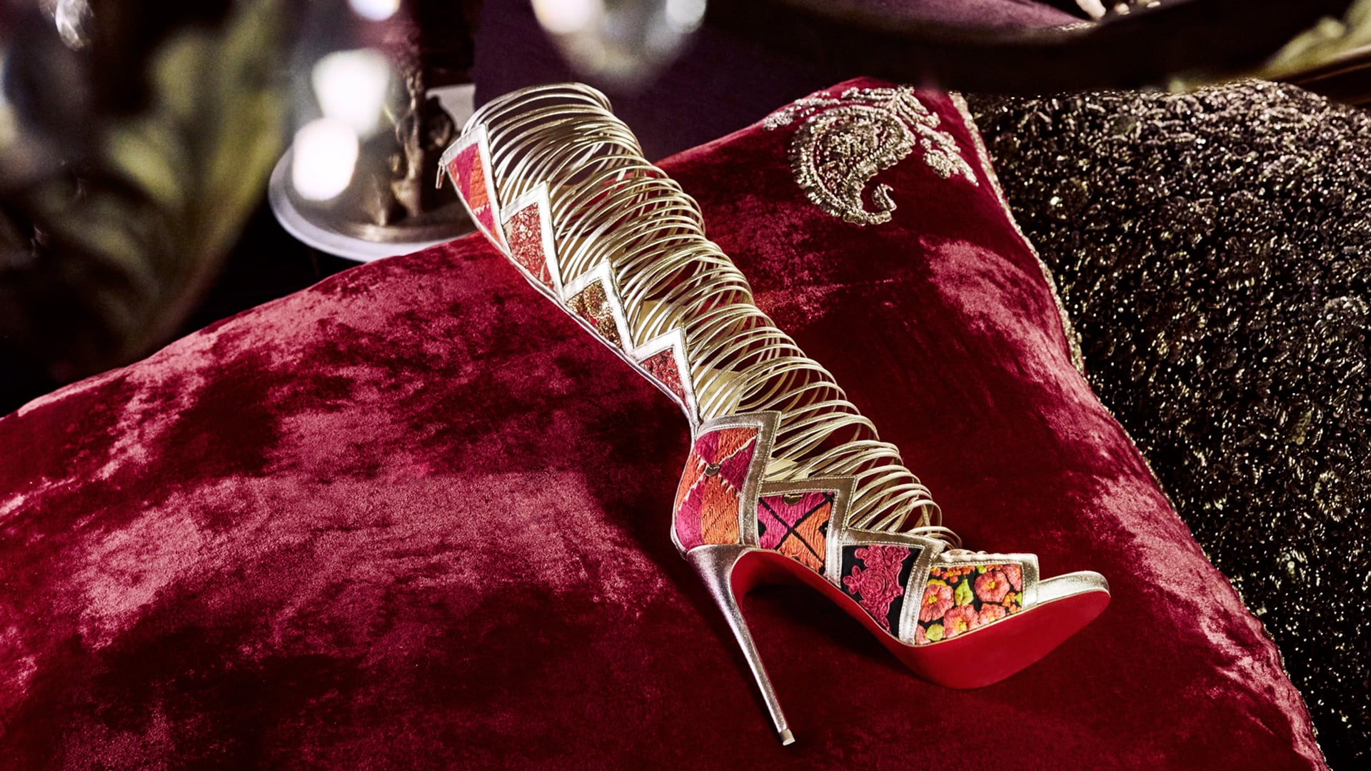 Christian Louboutin and SabyasachiChristian Louboutin and Sabyasachi
