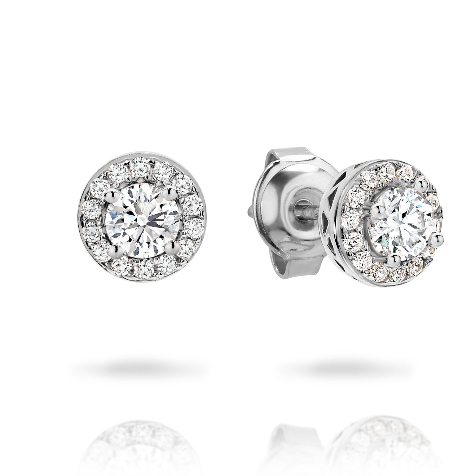 Georgini Petite Halo Stud Earrings