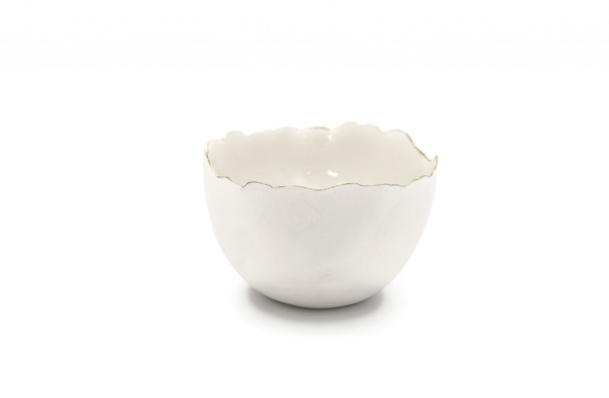 Collectible Porcelain White Bowl