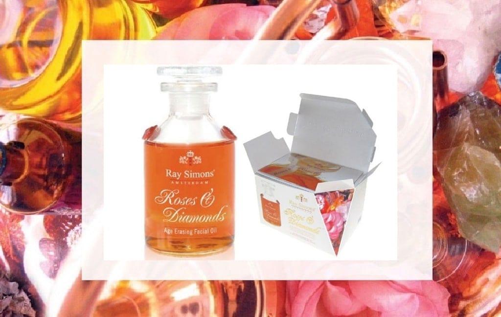 Roses and Diamonds Age Erasing Facial Oil Ray Simons