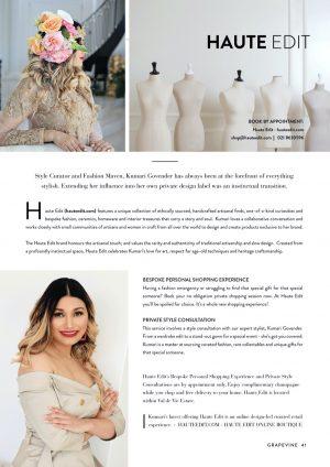 Val de Vie's Grapevine Magazine - Kumari Govender